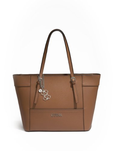 GUESS Women's Delaney Color-Blocked Small Classic Tote