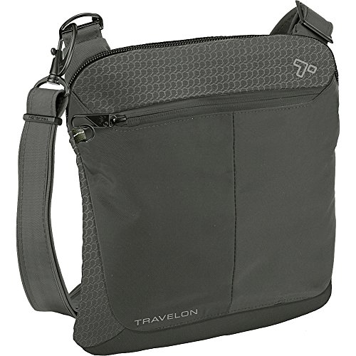 Travelon Anti-Theft Active Small Crossbody Messenger Bag