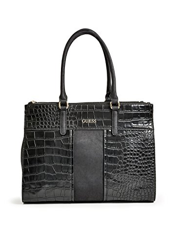 GUESS Women's Paradis Croc-Embossed Carryall