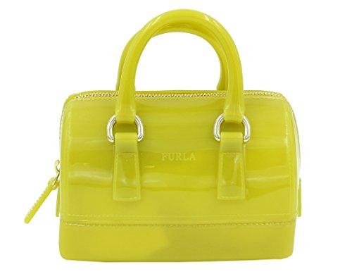 Furla Candy Mini Satchel Handbag in JADE