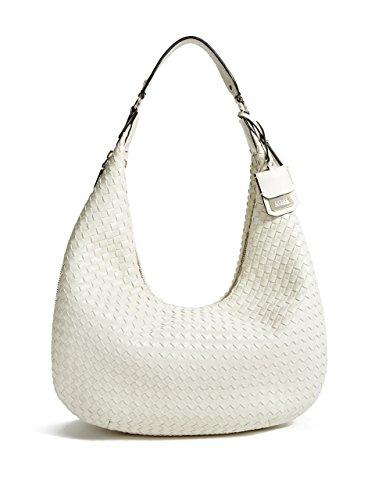 GUESS Zoie Woven Hobo Bag