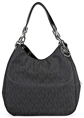 Michael Kors Fulton Large Shoulder Tote in Black