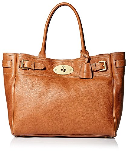 Mulberry Women's Bayswater Tote Bag in Oak with Brass