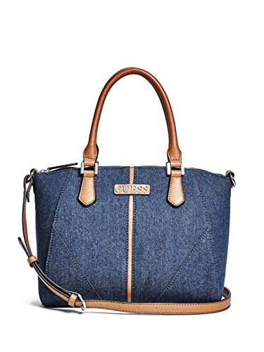 GUESS Women's Tambako Denim Satchel