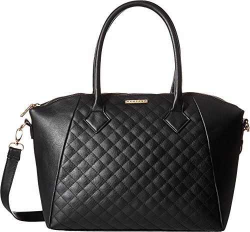 Rampage Quilted Satchel Cross Body Handbag