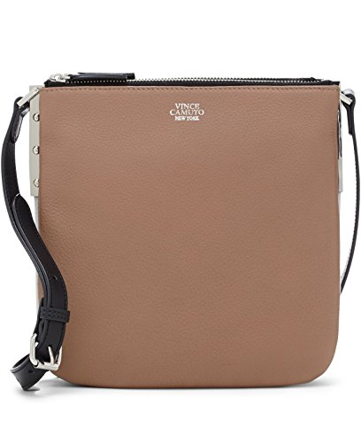"Vince Camuto ""Neve"" Small NudeLeather Crossbody"
