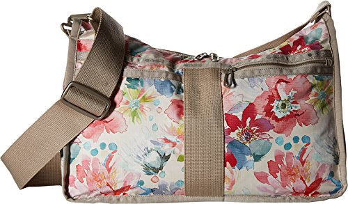 LeSportsac Women's Everyday Bag Waterlily Garden Cross Body