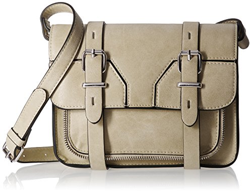 Madden Girls MGSPOTZZ Crossbody Bag, Taupe