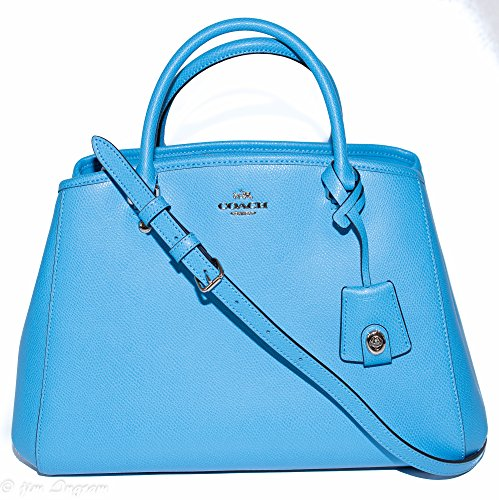 Coach Crossgrain Leather Margo Carryall Satchel Purse – #F34607