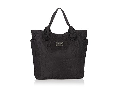 MARC BY MARC JACOBS Large Pretty Nylon Tate Black Tote