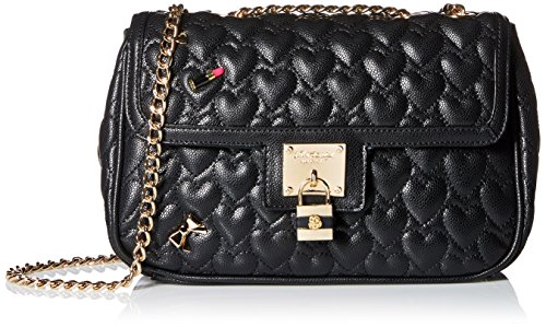 Betsey Johnson Be My Baby Flap Bag