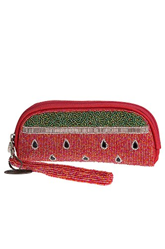 Mary Frances Beaded Eye Glass Cases (Slice of Life)