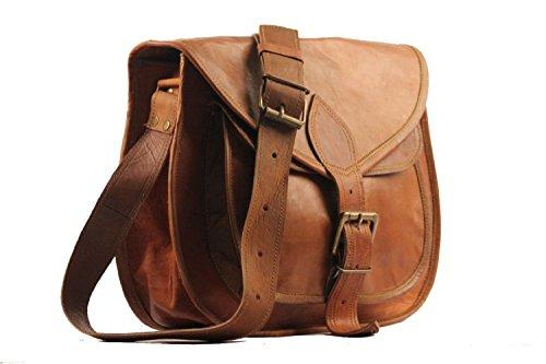 Cuero Leather Purse Designer Crossbody Shoulder Bag Travel Satchel Women Handbag Ipad Bag