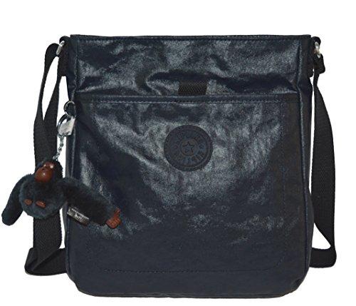 Kipling Avari Crossbody Laquer Blue Cross Body Handbags