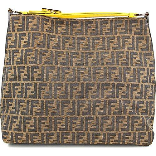 Fendi Handbags Zucca & Calf Leather 8BR653