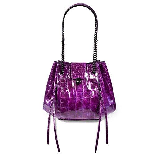 Eric Javits Designer – Luxury Women's Lil Leigh Handbag (Violet)