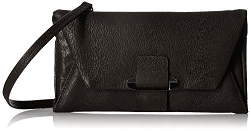 Kooba Handbags Ruby Envelope Wallet CrossBody, Black, One Size