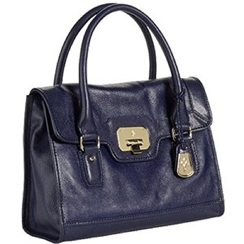 Cole Haan Vintage Valise Claire Mini Satchel, Prussian Blue