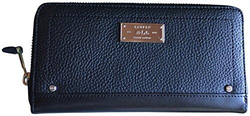 Lauren Ralph Lauren Fulton Genuine Leather Wallet Black