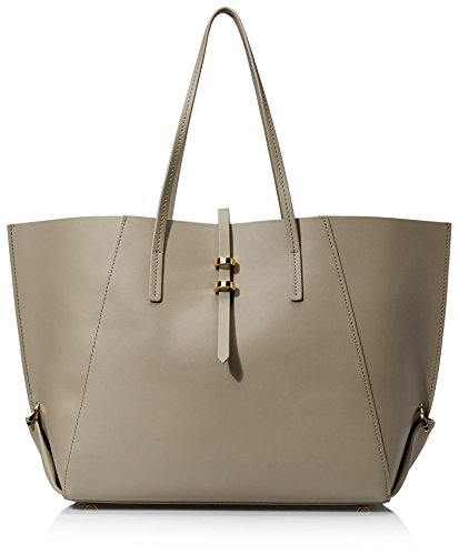 ZAC Zac Posen Women's Eartha Folded Gusset Shopper Bag in Beige