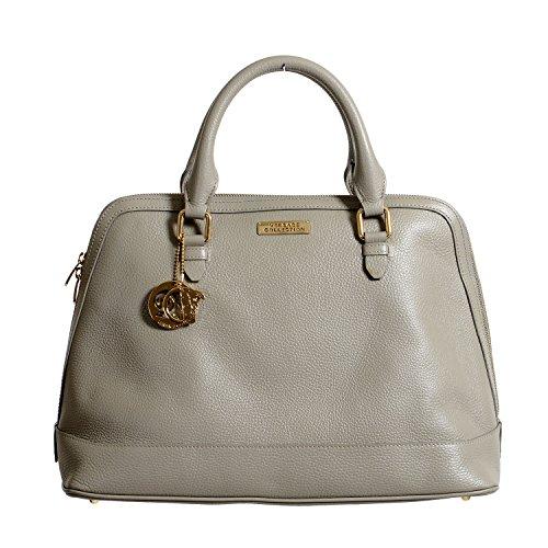 Versace Collection Women's Leather Satchel Handbag Bag