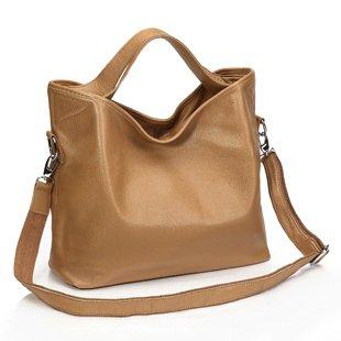 ILISHOP Women's Genuine Leather Shoulder Bag Fashion Tote Handbag For Ladies Hot Sale (Peru)
