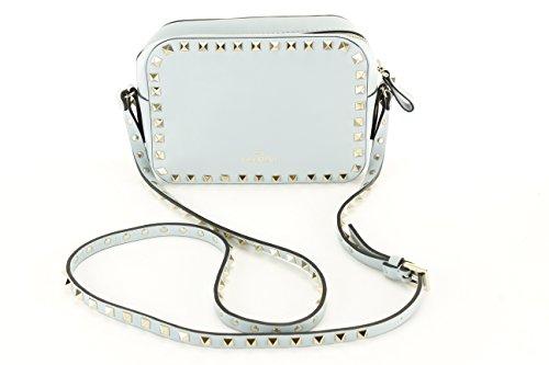 Valentino Womens Kw2b0809bol Shoulder Bag – Blue Leather