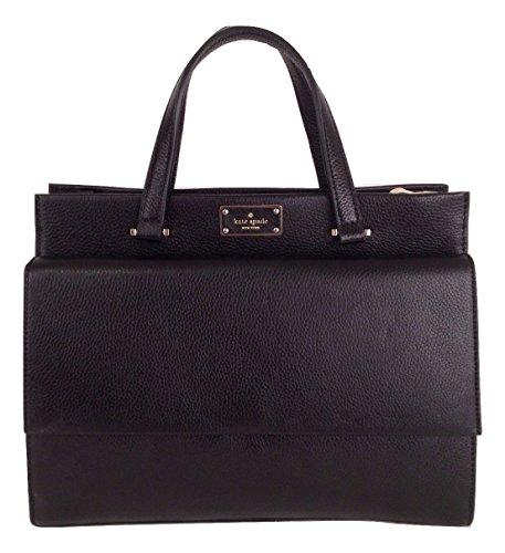 Kate Spade Carena Kay Street Pebble Leather Handbag Shoulder Bag in Black