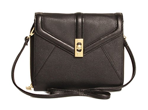 Tutilo Designer Handbags: Women's Essex Mini Tablet Crossbody – Black (See More Colors)