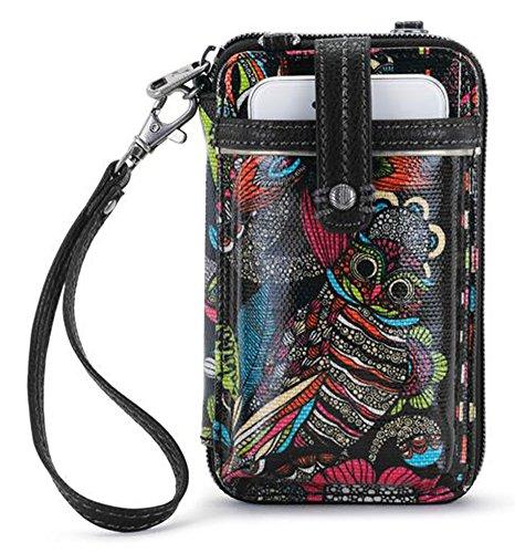 Sakroots Women's Smartphone Wristlet Canvas Handbags