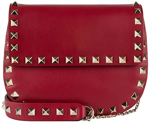 Valentino Small Chain Cross Red Body Bag