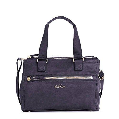Kipling Women's New Tarah Handbag One Size Metallic Steel