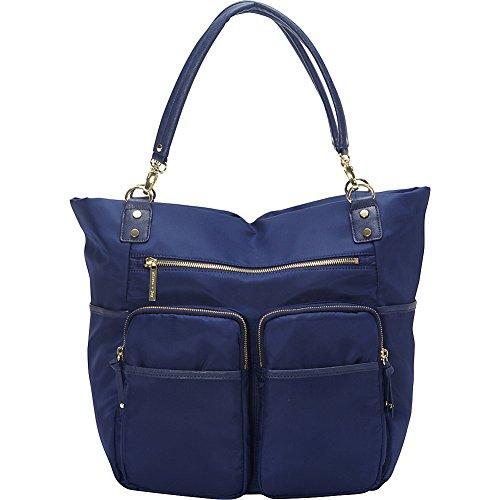 Olivia and Joy Womens Fashion Designer Handbags Zip Zoom Dual Handle Tote Shoulder Bag
