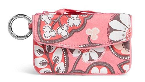 Vera Bradley Jen Zip ID Wallet Coin Purse Case in Blush Pink