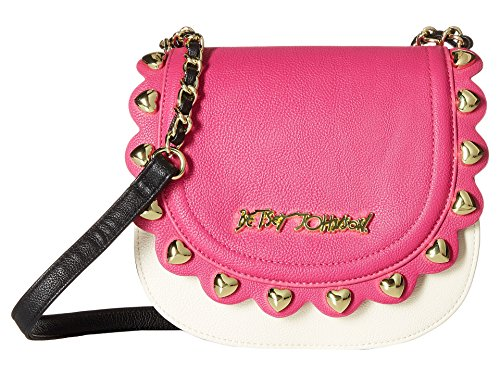 Betsey Johnson Women's Wavy Days Crossbody Fuchsia Cross Body