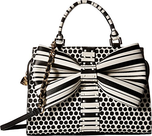 Betsey Johnson Women's Curtsy Satchel Dots Satchel