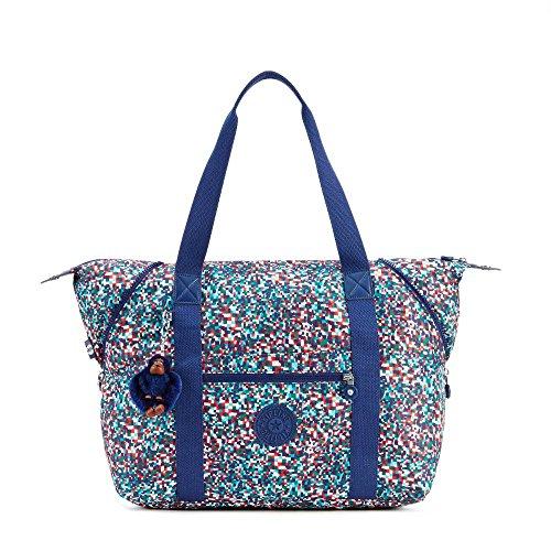Kipling Women's Art M Printed Tote Bag One Size Confetti Dream Blue