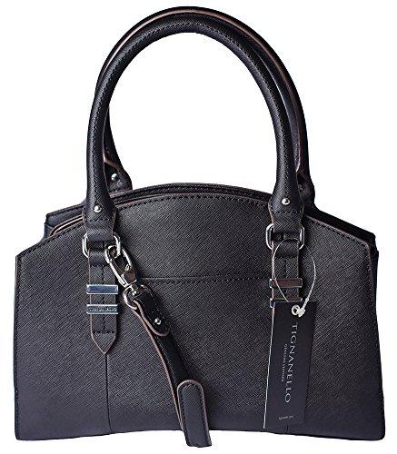 Tignanello Carry All Satchel Black A272260