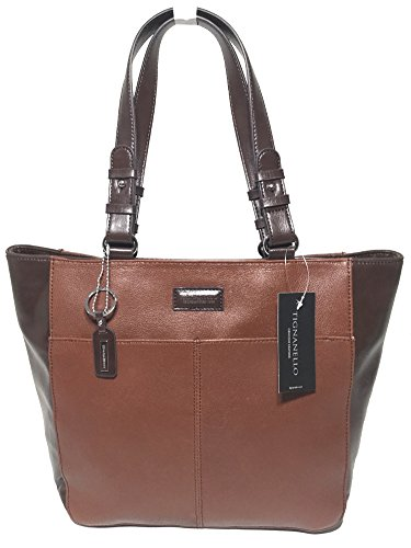 Tignanello Western Tote Rust/Dark Brown T58315A