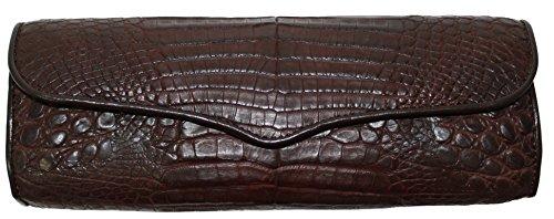 Betty Audish Genuine Crocodile, Woman's Clutch, Handbag, Purse and Evening Bag