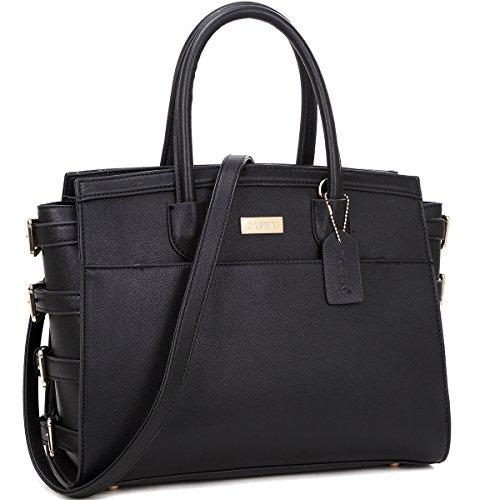 K664018L MyLux® Women Fashion Designer Purse handbag (8184black1)