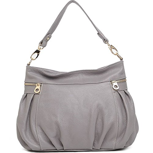 Heshe® New Fashion Women Soft Shoulder Bag Handbag Tote Top Handle Purse Hobo Cross Body