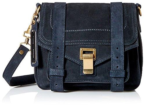Proenza Schouler Women's Ps1 Pouch Handbag in Navy