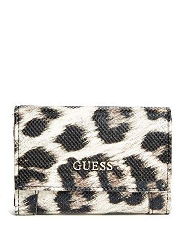 GUESS Delaney Leopard-Print Mini Wallet