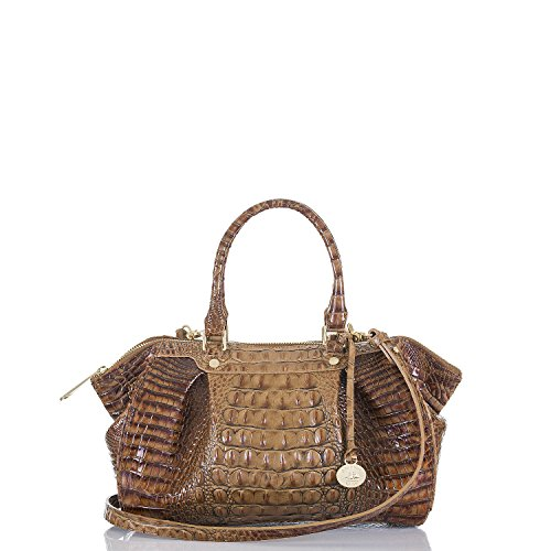 Brahmin Small Faye Toasted Almond Melbourne Satchel