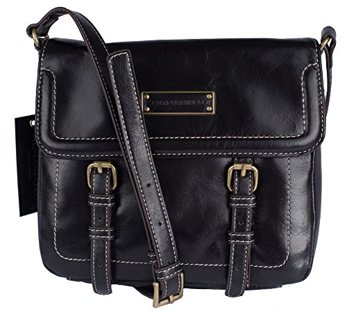 Tignanello Buckle Down Cross Body Black T65710A