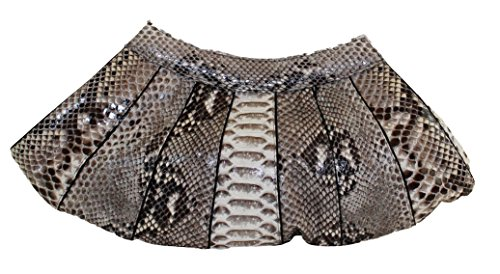 Betty Audish Genuine Python Clutch, Woman's Clutch, Purse, Evening Bag, Cross Body Handbag