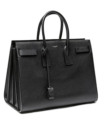 Wiberlux Saint Laurent Women's Real Leather Tote Handbag