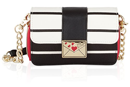 Betsey Johnson Lock WOS Love Letter Crossbody Clutch Purse