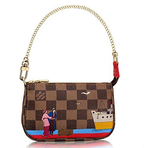 Louis Vuitton Handbag Damier Mini Pochette N41667 Made in France